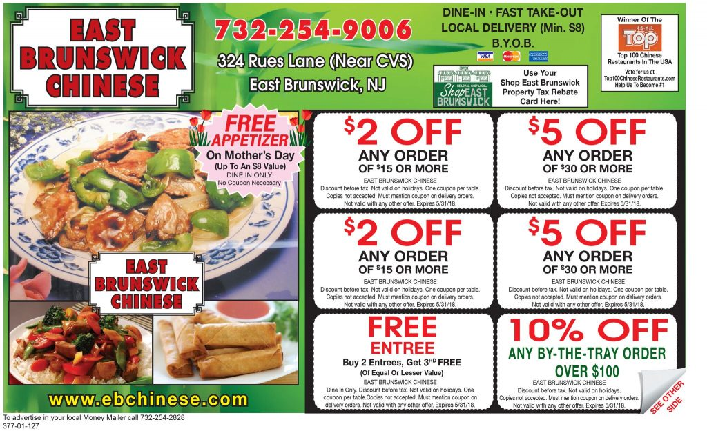 Food Ads - Money Mailer of Central NJ
